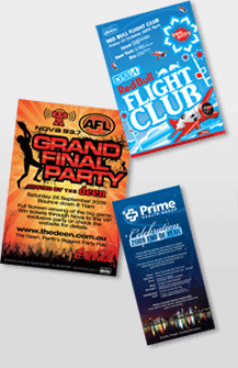 Flyer Design - From $190 plus printing