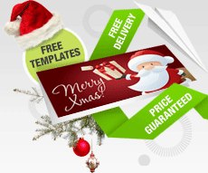 Free Christmas Card Template Designs